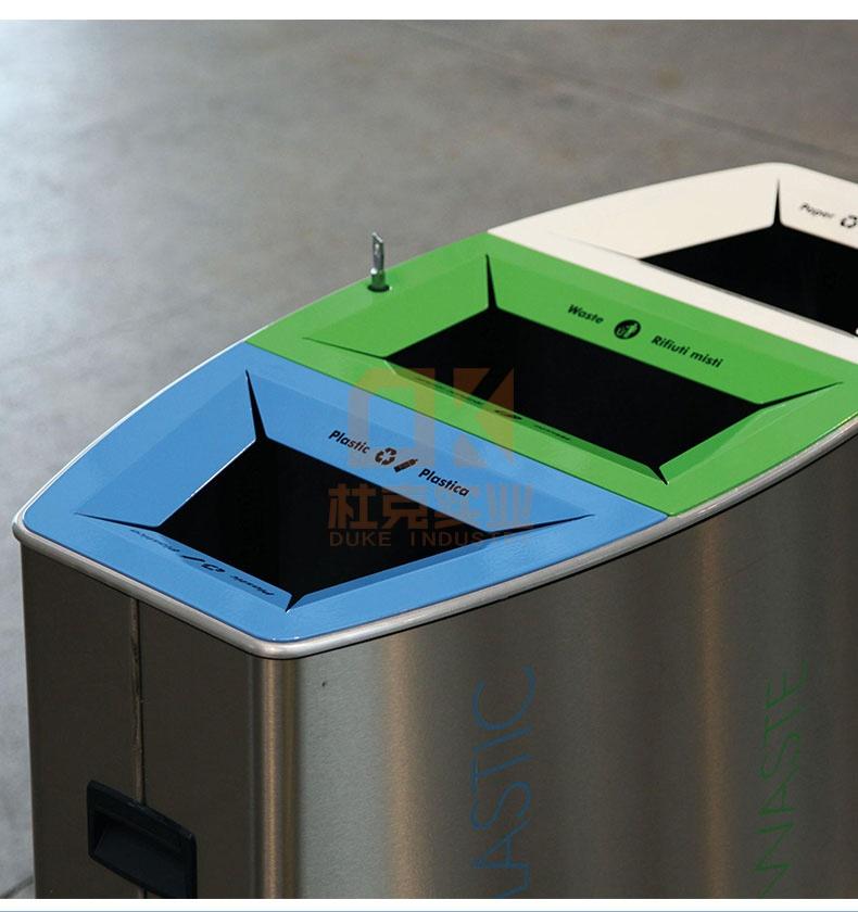 不锈钢创意垃圾桶