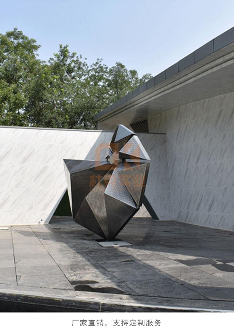 不锈钢海螺景观雕塑