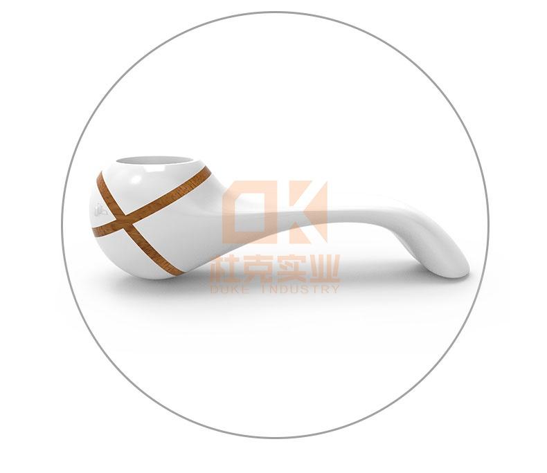 玻璃钢创意烟斗座椅