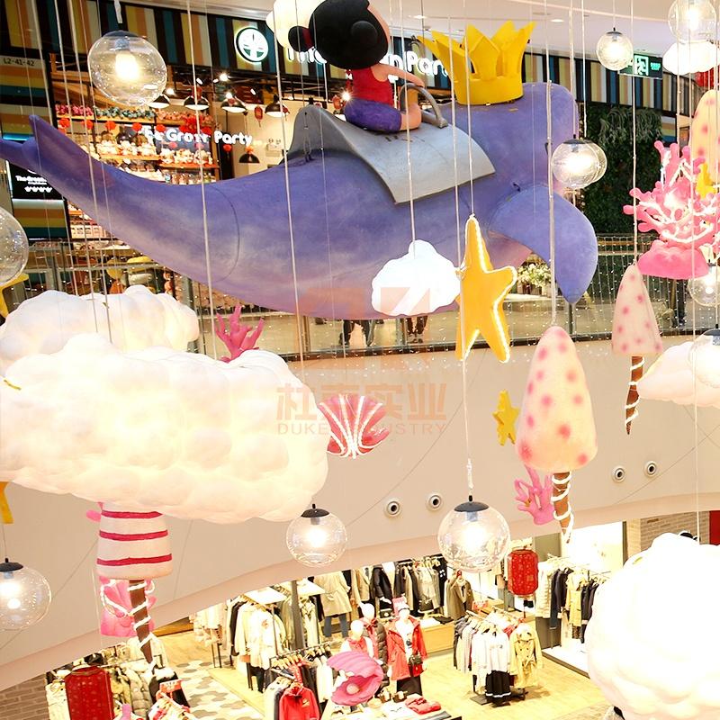 商场怎么吸引人,商场美陈已经成为一种趋势!