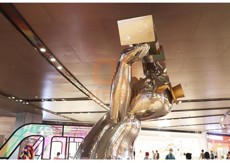玻璃钢商场艺术造型熊雕塑