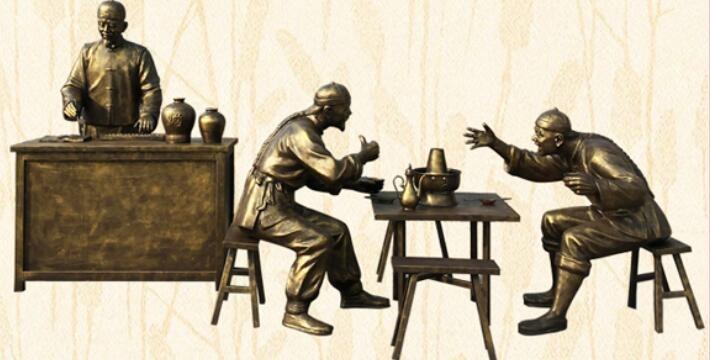 仿铜玻璃钢雕塑是怎样制作的