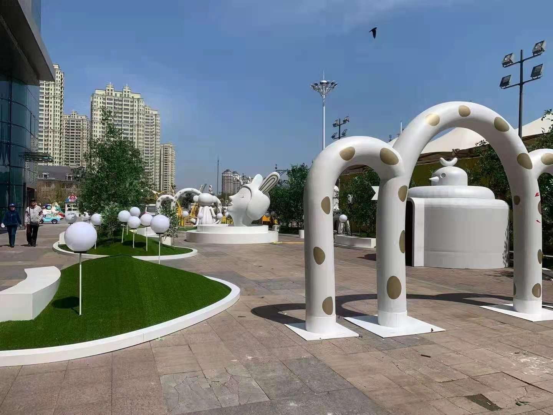 美陈景观雕塑摆件,用玻璃钢缔造不一样的美景!