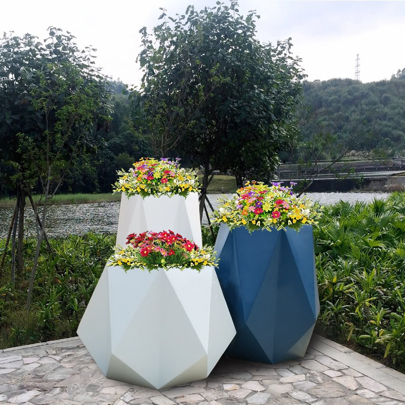 玻璃钢花盆厂生产厂家,玻璃钢花盆价格如何计算?