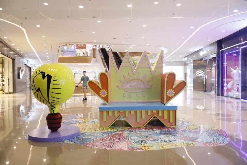 广州合生汇商场美陈,美的体验!