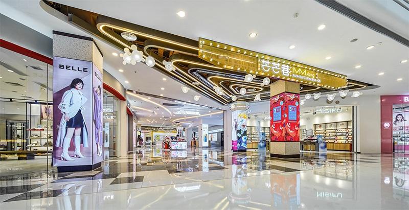 台州万达广场商业美陈