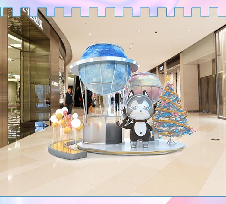 新音乐图腾IP商场美陈雕塑DP点