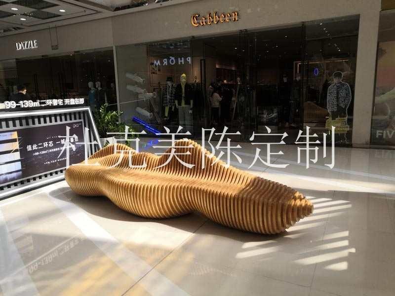 河南郑州佳纷天地商城美陈案例